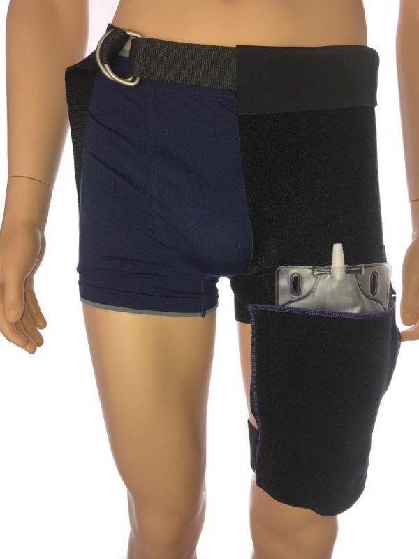 """alt="""" active catheter leg bag holder"""""""